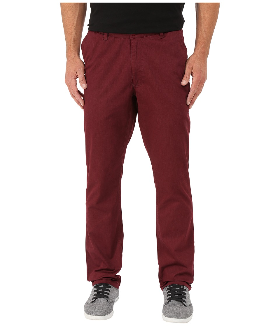 Matix Clothing Company - Welder Heather Pants (Merlot) Men's Casual Pants
