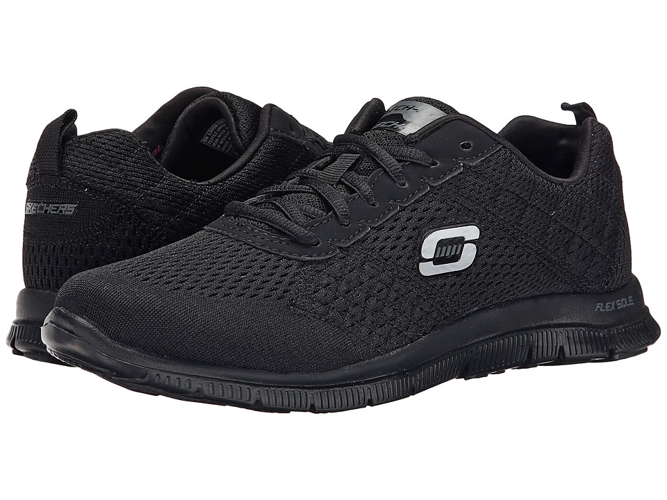 SKECHERS - Obvious Choice (Black) Women's Shoes
