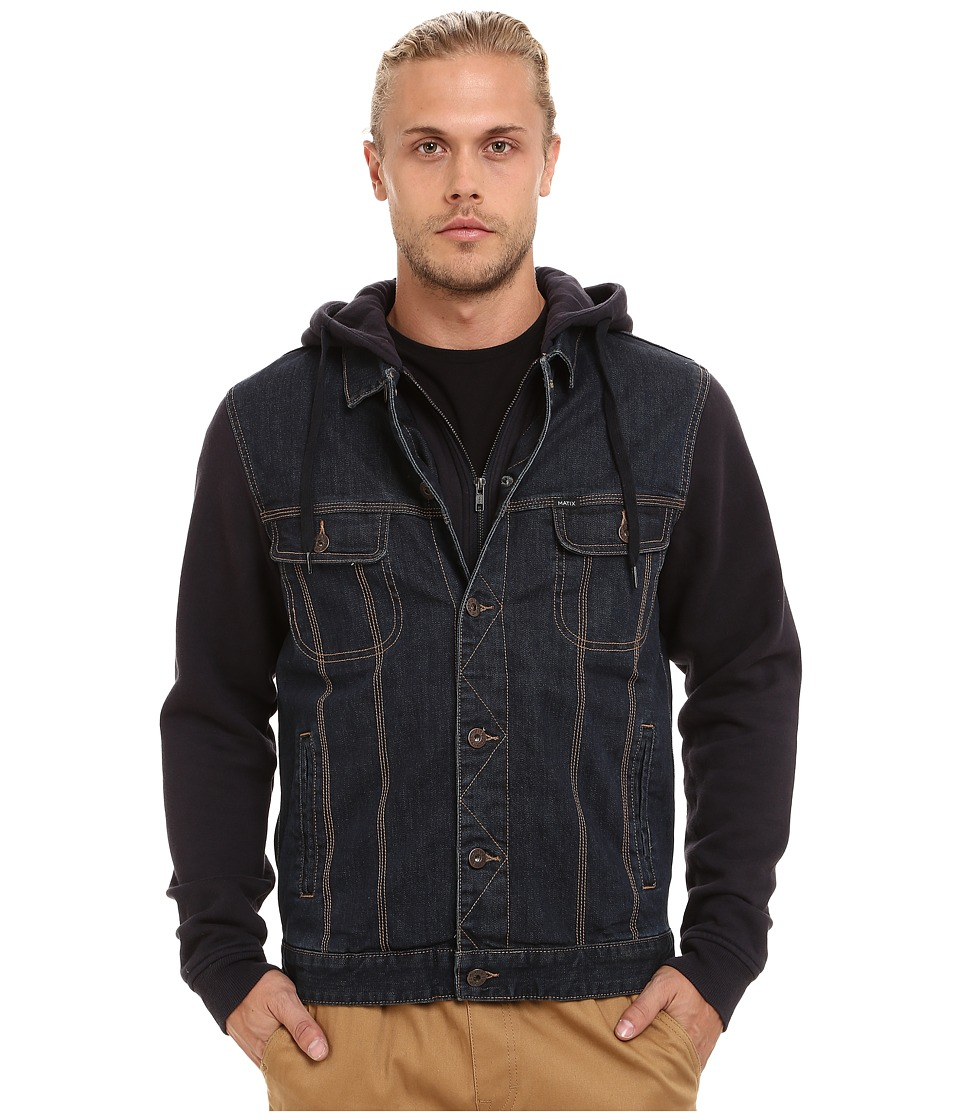 Matix Clothing Company - Union Trucker Jacket (Broken Raw) Men