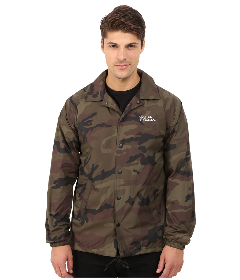Matix Clothing Company - League Jacket (Camo) Men's Coat