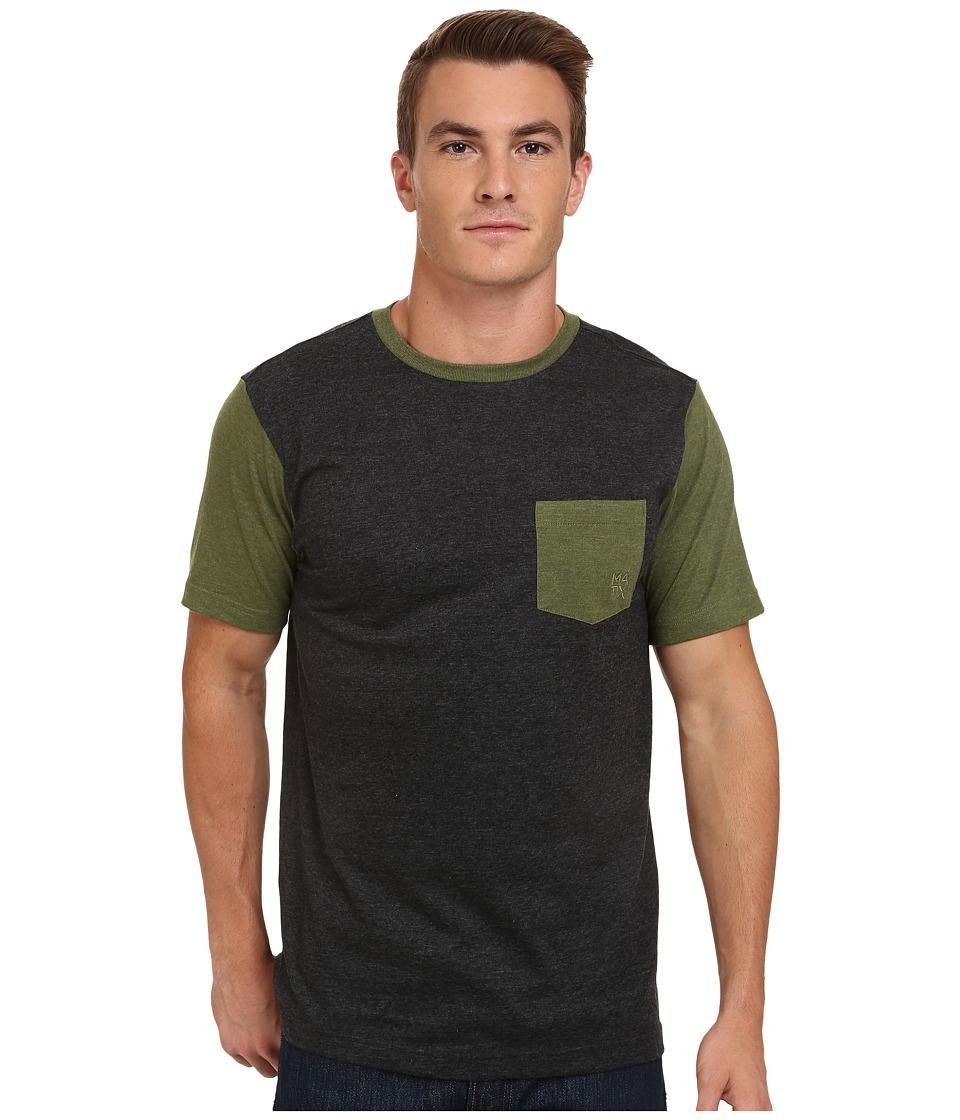 Matix Clothing Company - Standard Clash T-Shirt (Charcoal) Men's T Shirt