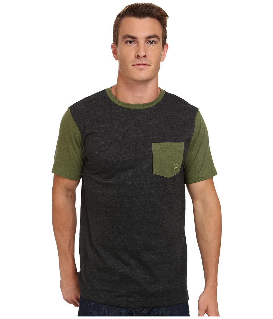 Matix Clothing Company - Standard Clash T-Shirt (Charcoal) Men's T Shirt