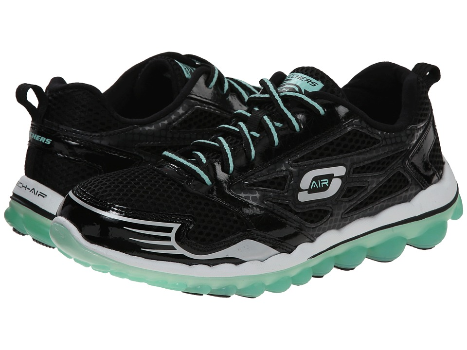 SKECHERS - Skech-Air 2.0 - Clear Day (Black Aqua) Women's Shoes
