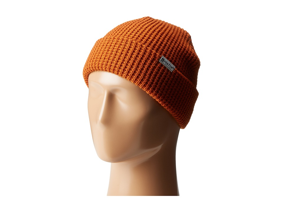 Matix Clothing Company - Nightshift Beanie (Burnt Orange) Beanies