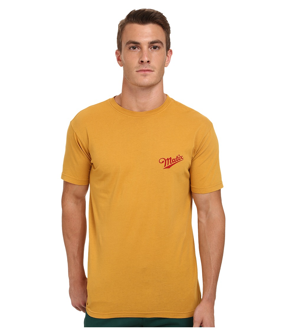 Matix Clothing Company - Delivery T-Shirt (Gold) Men's T Shirt