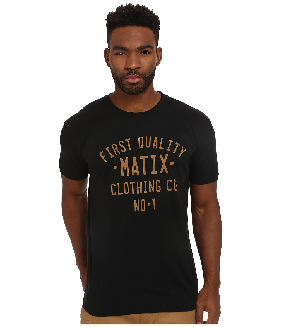 Matix Clothing Company - Plates T-Shirt (Black) Men's T Shirt