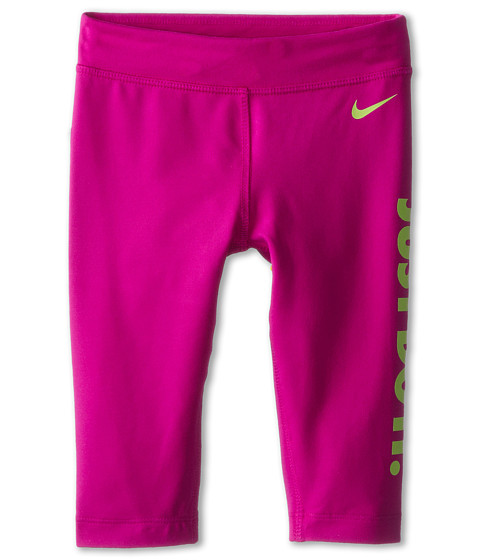 Nike Kids - Leg-A-See Just Do It Capris (Little Kids) (Fuchsia Flash) Girl's Capri