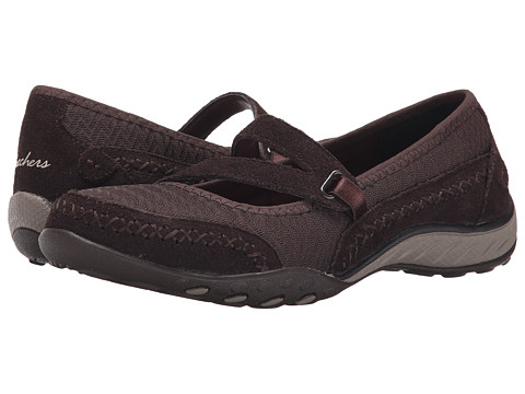 SKECHERS - Breathe-Easy - Lovestory (Chocolate) Women