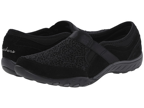 SKECHERS - Breathe-Easy - Our Song (Black) Women