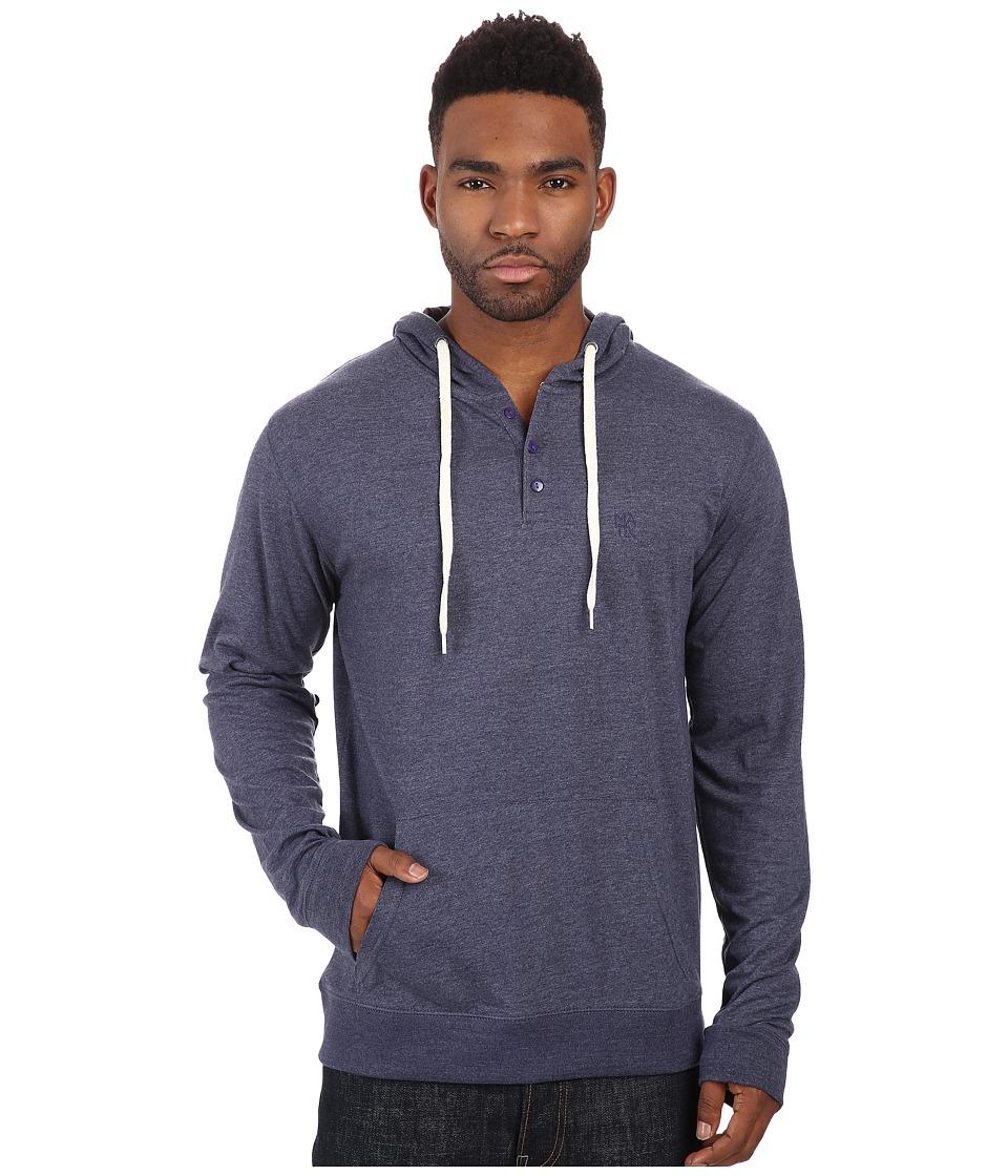 Matix Clothing Company - World Henley Knit (Blue Heather) Men