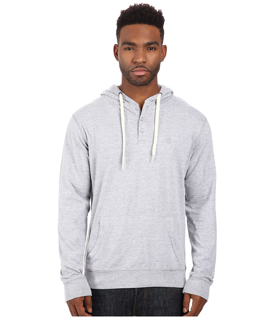 Matix Clothing Company - World Henley Knit (Grey Heather) Men