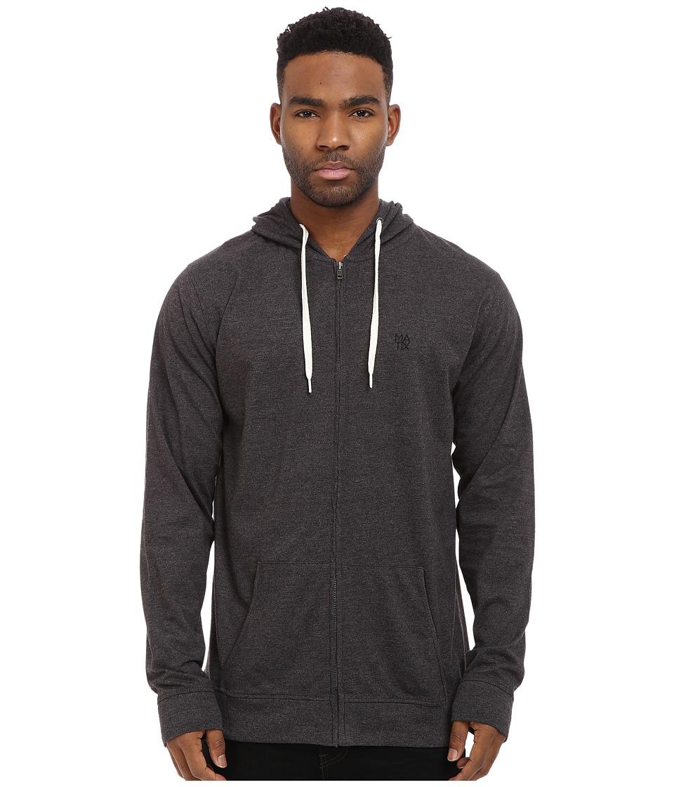 Matix Clothing Company - World Zip Knit (Black Heather) Men's Clothing