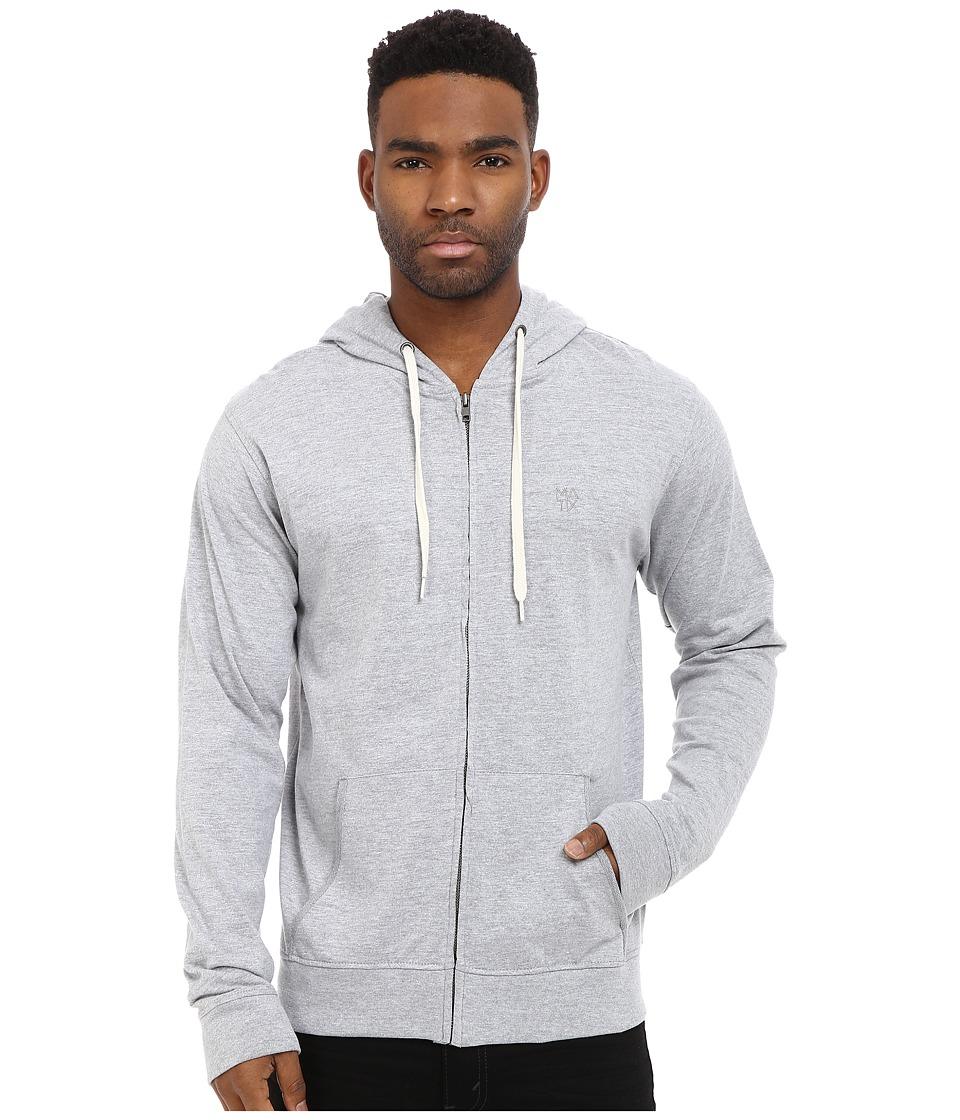 Matix Clothing Company - World Zip Knit (Grey Heather) Men's Clothing