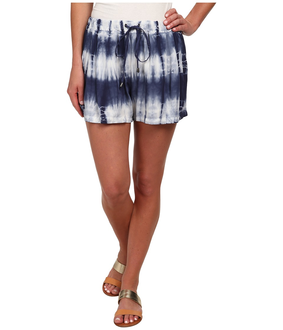 Splendid - Karpaz Tie-Dye Shorts (Navy) Women's Shorts