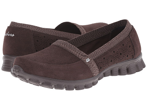 SKECHERS - EZ Flex 2 - Bed-Of-Roses (Chocolate) Women's Slip on Shoes