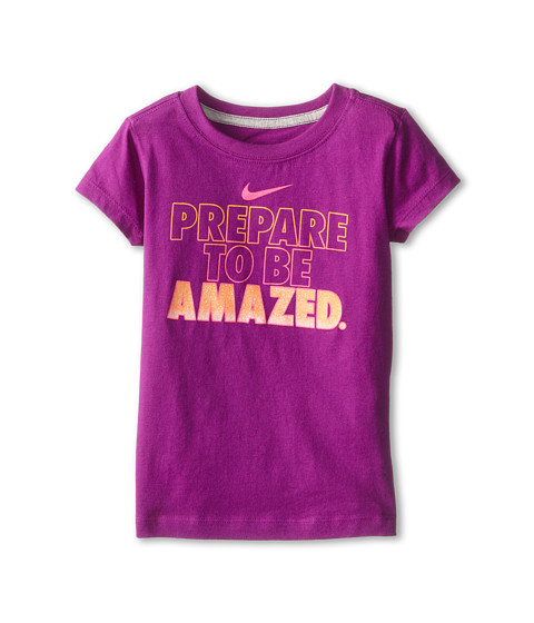 Nike Kids - Prepare To Be Amazed Short Sleeve Tee (Little Kids) (Bold Berry) Girl