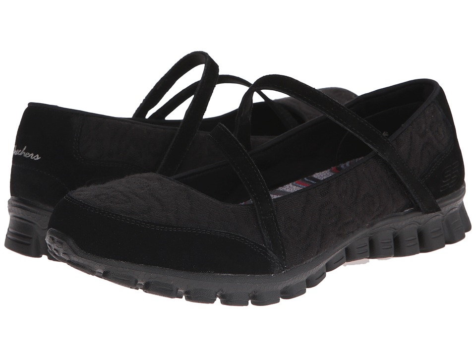 SKECHERS - EZ Flex 2 - Seeking Love (Black) Women's Shoes