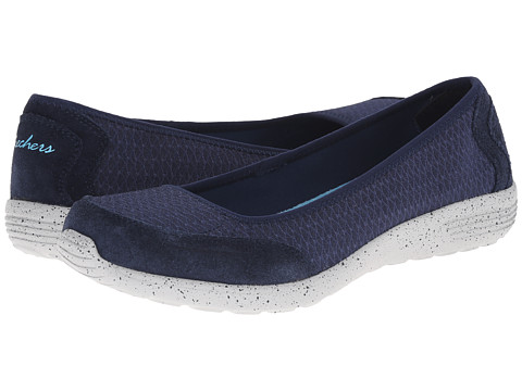 SKECHERS - Stardust (Navy) Women's Slip on Shoes