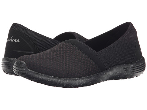 SKECHERS - Stardust - Sure Bet (Black) Women's Slip on Shoes