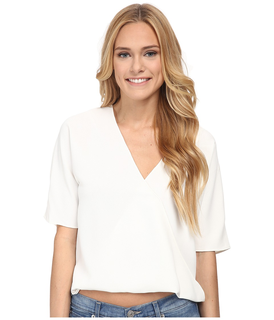 French Connection - Aro Crepe Top (Summer White) Women's Blouse