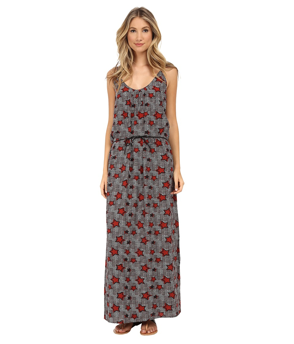 Maison Scotch - Maxi Dress in Safari Inspired Prints (Print) Women's Dress