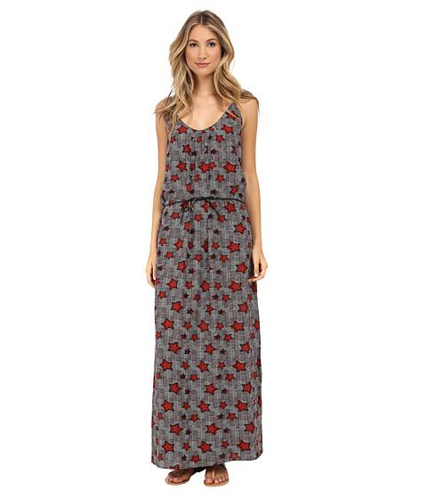 Maison Scotch - Maxi Dress in Safari Inspired Prints (Print) Women
