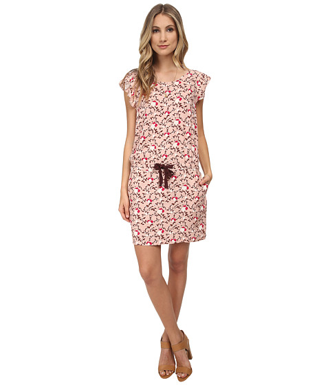 Maison Scotch - Viscose Summer Dress (Pink Print) Women's Dress
