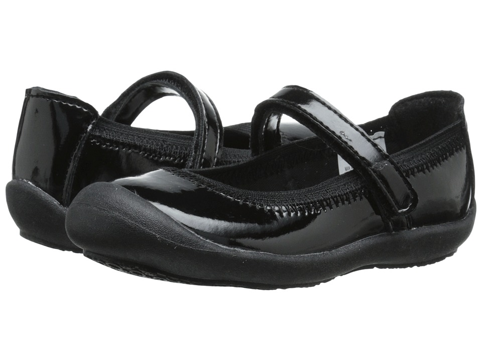 Hanna Andersson - Maya (Infant/Toddler) (Black Patent) Girls Shoes