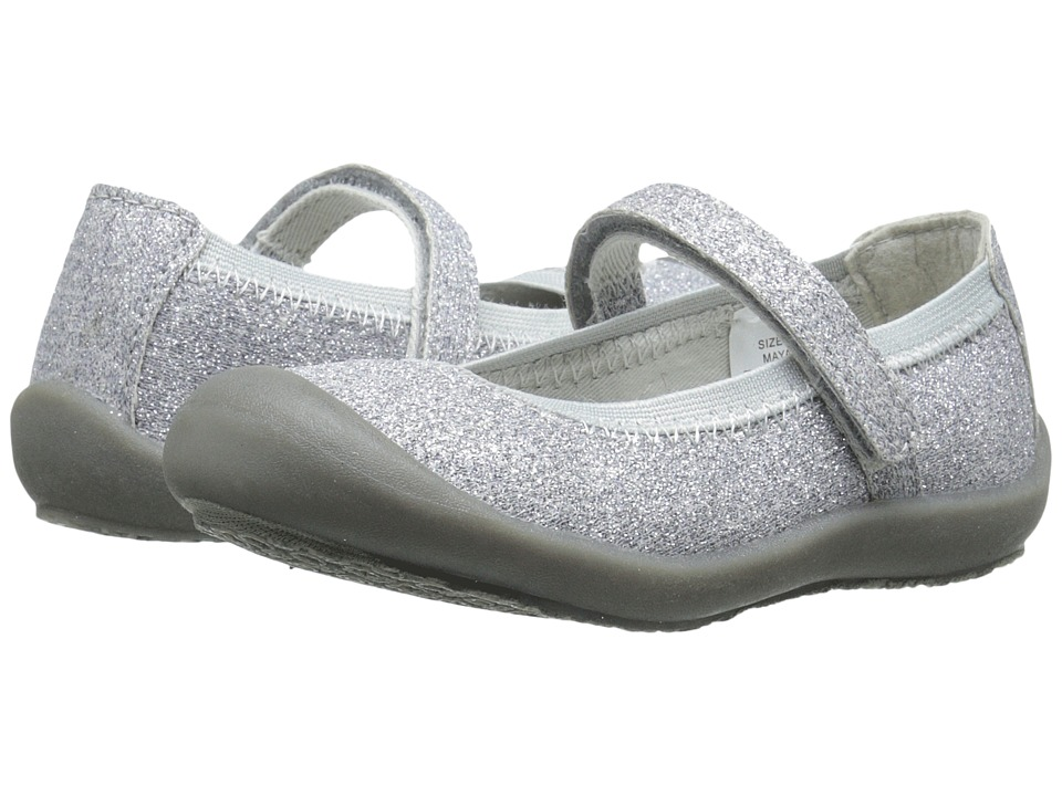 Hanna Andersson - Maya (Infant/Toddler) (Silver Glitter) Girls Shoes