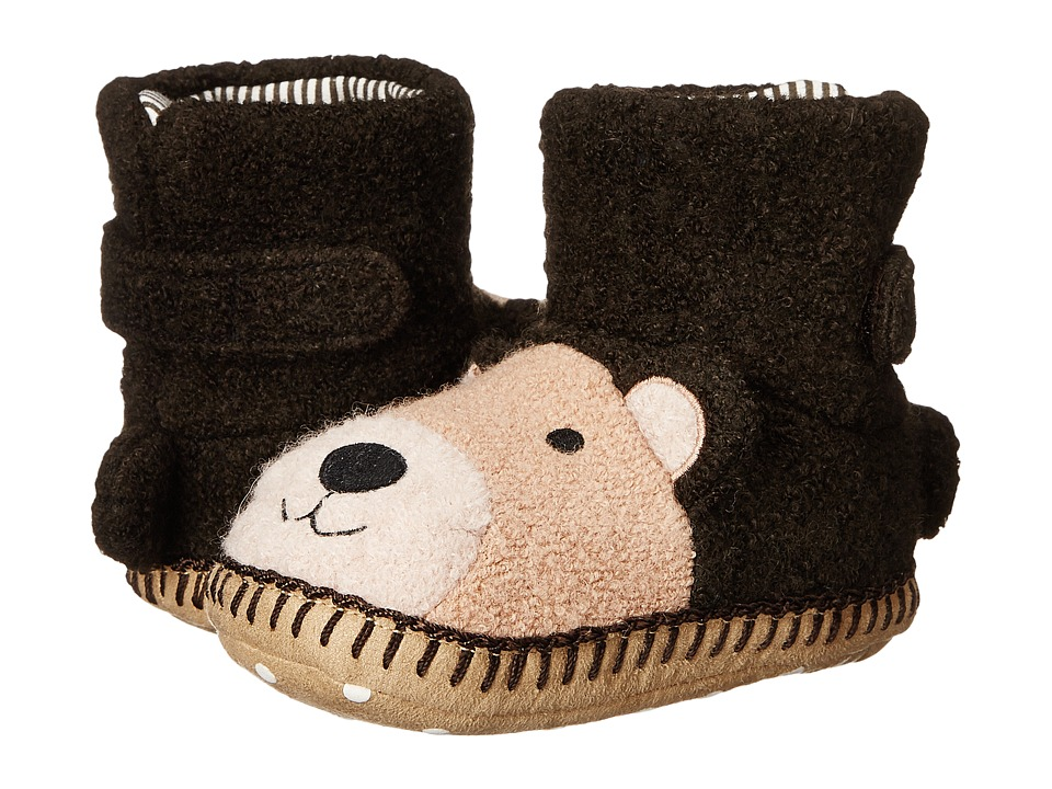 Hanna Andersson - Bear Sandholm Slipper (Toddler/Little Kid/Big Kid) (Brown) Kids Shoes