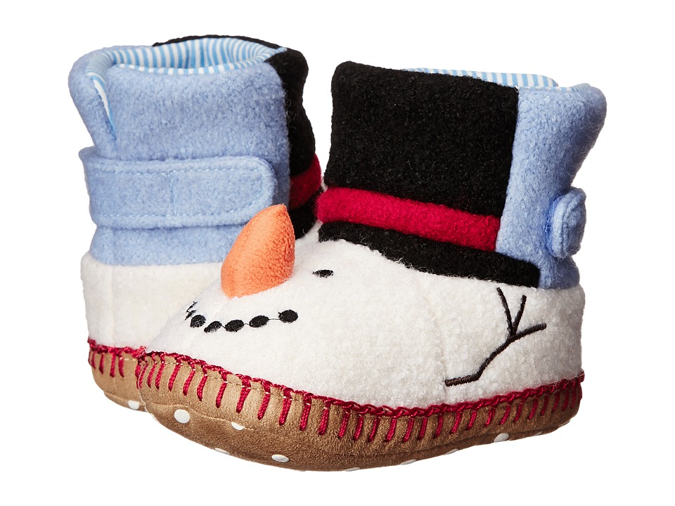Hanna Andersson - Snowman Sandholm Slipper (Toddler/Little Kid/Big Kid) (White) Kids Shoes