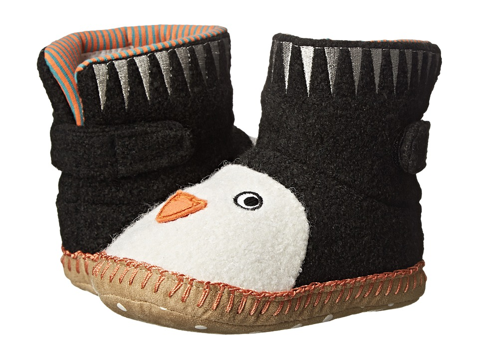 Hanna Andersson - Penguin Sandholm Slipper (Toddler/Little Kid/Big Kid) (Black) Kids Shoes