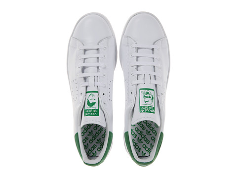 adidas by Raf Simons - Raf Simons Stan Smith (White/Green) Athletic Shoes