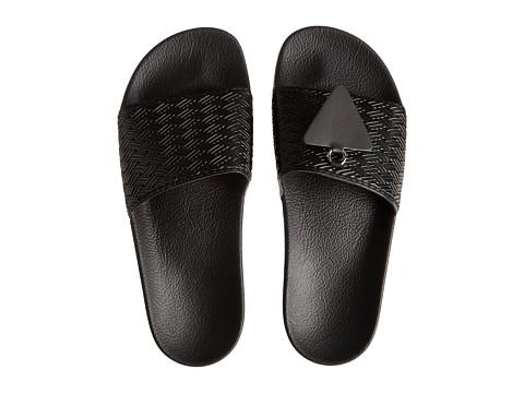 adidas by Raf Simons - Raf Simons Pendant Adilette (Core Black) Sandals