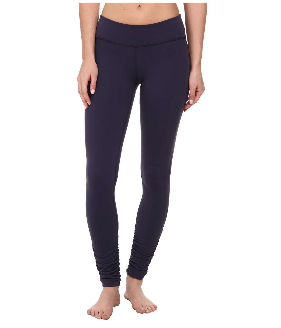 Beyond Yoga - Gathered Long Leggings (True Navy) Women's Casual Pants