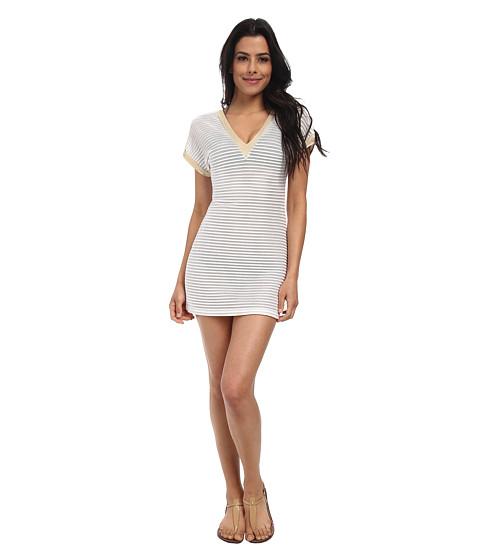 Luli Fama - Moon Over Miami Bodycon Dress Cover-Up (White) Women
