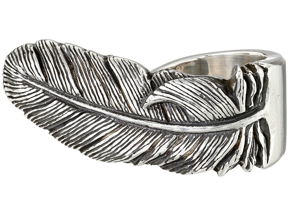 King Baby Studio - Raven Feather Ring (Silver) Ring