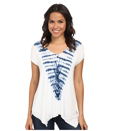 Miraclebody Jeans - Beth Boxy Top w/ Body-Shaping Inner Shell (Pool) Women's Short Sleeve Pullover