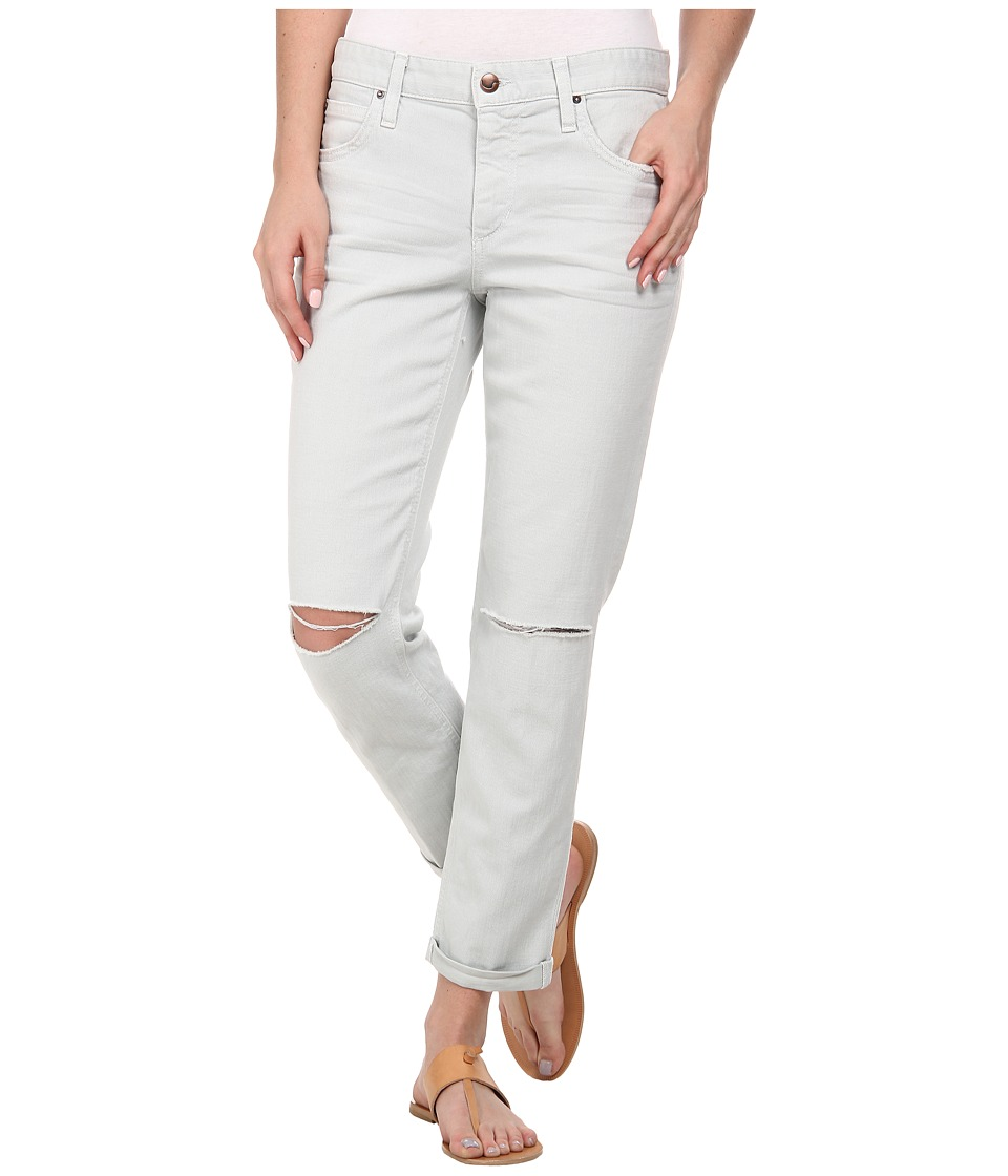 Joe's Jeans - Collector's Edition Boyfriend Slim Crop in Distressed Colors (Cloud) Women's Jeans