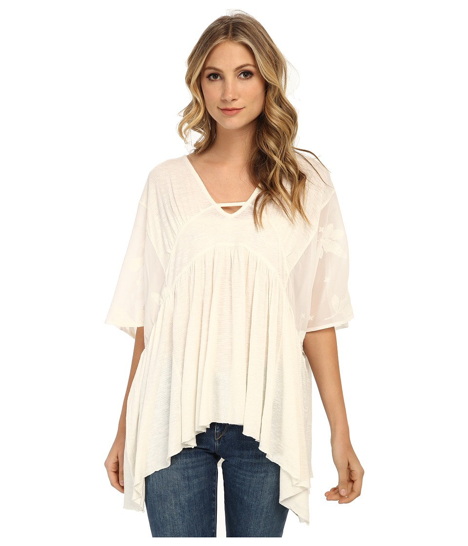 Free People - Slubby New World Sunny Kaftan (Ivory) Women's Clothing