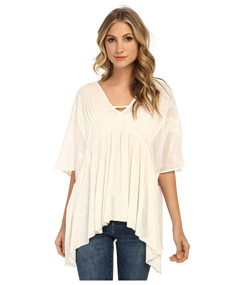 Free People - Slubby New World Sunny Kaftan (Ivory) Women