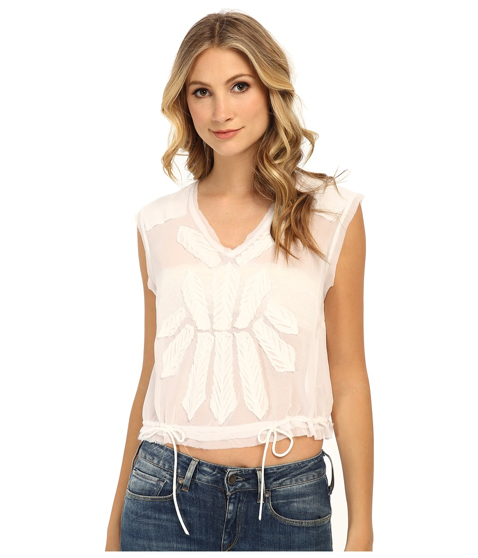 Free People - Pennies Storyteller Tee (White) Women