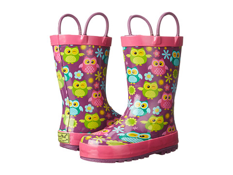 Western Chief Kids - Flower Owls (Toddler/Little Kid) (Multi) Girls Shoes