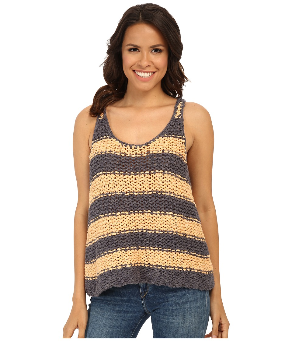 Free People - Stars That Shine Tank Top (Melon/Dusk Combo) Women's Sleeveless