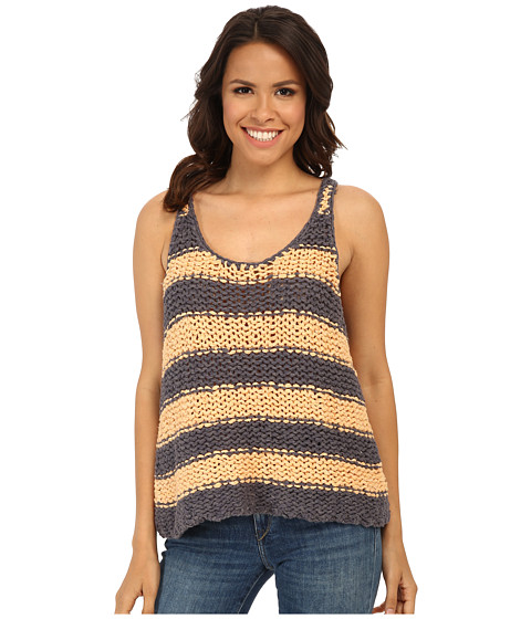 Free People - Stars That Shine Tank Top (Melon/Dusk Combo) Women
