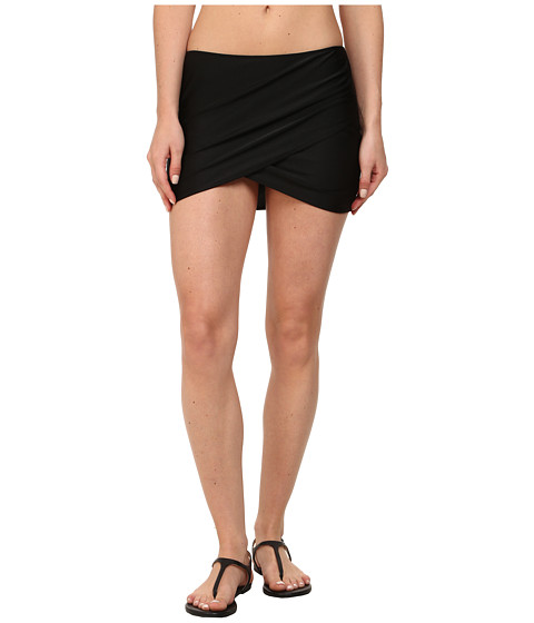 Amuse Society - Everyday Solid Skirt Cover-Up (Black) Women
