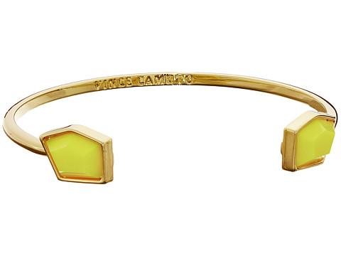 Vince Camuto - Stone Open Cuff Bracelet (Gold/Citron) Bracelet