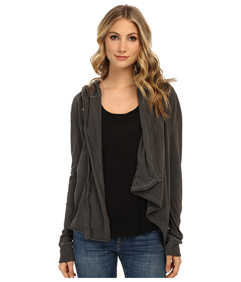 Free People - Bond Cardigan (Washed Black) Women