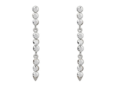 Vince Camuto - Ombre Linear Earrings (Light Rhodium) Earring
