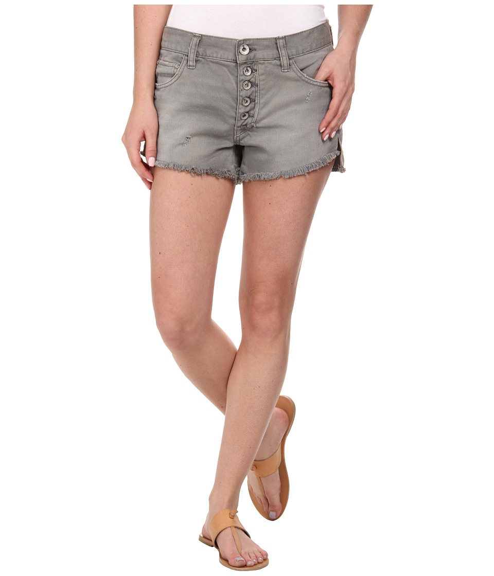 Free People - Runaway Cutoff Shorts (Dusty Grey) Women's Shorts